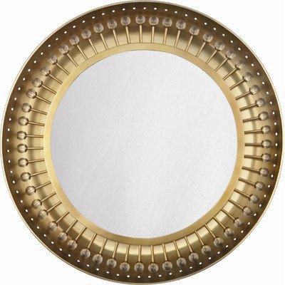Jonathan Adler Mayfair 1 Light Backlit Mirror Finish: Antique Brass front-306725