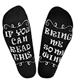 Funny Gifts for Men/Dad/Women/Mom/Grandma/Grandpa Novelty Cotton Wine Socks Stocking Stuffers for Christmas,Birthday,Wine Lover,White Elephant Father/Mother's Day