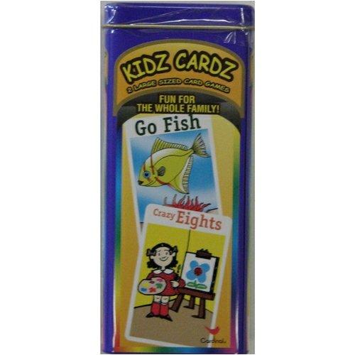Kidz Cardz 2 Large Sized Card Games