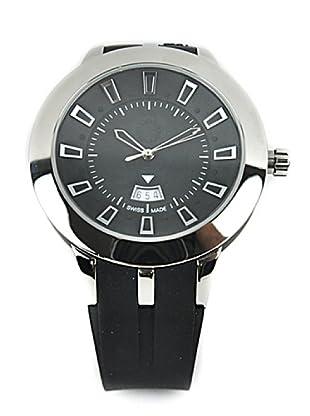 SÖL- Reloj de Caballero movimiento suizo con correa de caucho