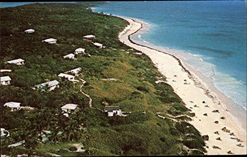 Harbour-Island-Caribbean-Islands-Bahamas-Original-Vintage-Postcard