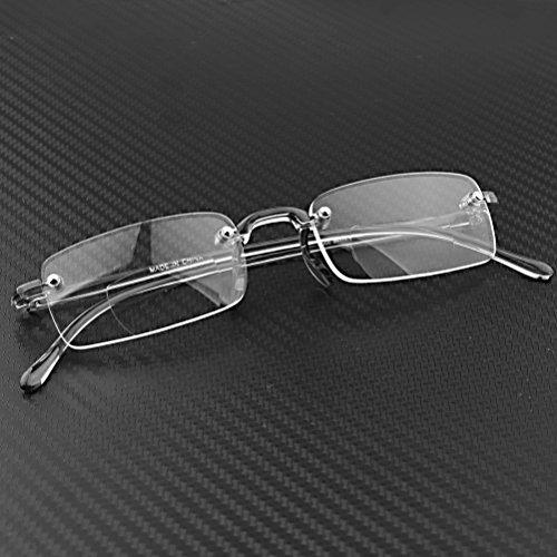 Galleon - 1 Pair Bifocal Unisex Stylish Frameless Rimless ...