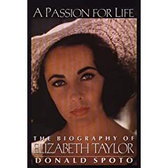 A Passion for Life: The Biography of Elizabeth Taylor (G K Hall Large Print Book Series)