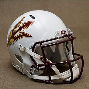 ARIZONA STATE SUN DEVILS Riddell Revolution SPEED Football Helmet WHITE