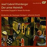 echange, troc State Opera Stuttgart - Rheinberger: Der Arme Heinrich
