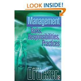 Management: Tasks, Responsibilities, Practices (Drucker Series)
