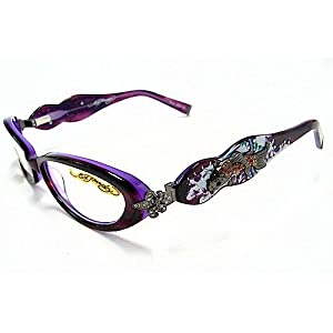 Eyeglass Frame Tattoo : Eho709 Eyeglasses Vintage Tattoo Eho 709 Lavenderlake ...