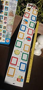 Watch Me Grow! Growth Chart With Picture Frames