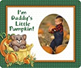 I'm Daddy's Little Pumpkin Halloween Photo Magnet Frame