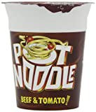 Pot Noodle Beef and Tomato 90 g (Pack of 12)