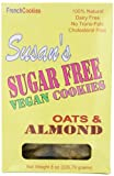 Susans Sugar Free Oats & Almond Cookie,8 Ounce