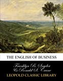 img - for The English of business book / textbook / text book
