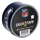 Duck Brand 240548 Seattle Seahawks NFL Team Logo Duct Tape, 1.88-Inch by 10 Yards, Single Roll at Amazon.com