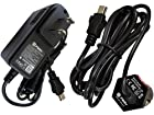 Pwr+® Combo Ac Adapter + Car Charger for Garmin GPS Portable Navigator Nuvi 40lm 50lm 1100lm 1450lmt 1300lm 1350lmt 2555lmt 2595lmt ; Streetpilot C310 C320 C330 C340 Dc Adaptor Power Supply Cord