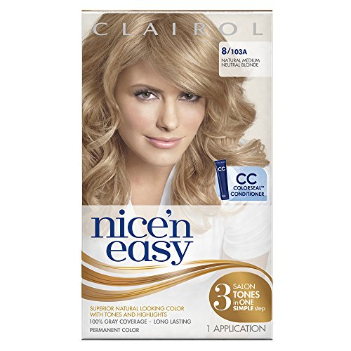 Clairol Nice N Easy Hair Color 103a Natural Medium