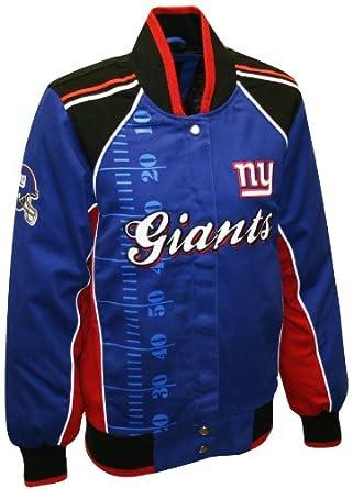 NFL Ladies New York Giants Franchise Twill Jacket by MTC Marketing, Inc