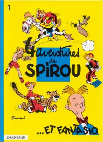 Spirou et Fantasio n° 1 4 aventures de Spirou... et Fantasio