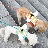 Its Dog(イッツドッグ) マイエンジェルベストハーネス・バブル/ブルー【L】