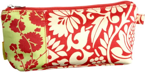 Amy Butler Carried Away Small Accessory Bag,Cotton Vine Tomato,one size