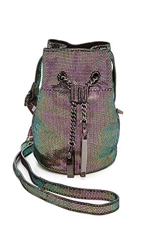 Halston Heritage Women'S Mini Bucket Bag, Multi Metallic, One Size back-412993