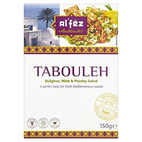 Taboulé De Blé Al'Fez Bulgur Salade Méditerranéenne 150G - Paquet de 2