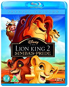 The Lion King 2 - Simba's Pride [Blu-ray] [Region Free]