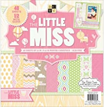 Diecuts With A View PS005310 Paper Stack 12X12 48Pkg-Little Miss