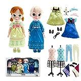 ディズニー プリンセス アナと雪の女王 エルサ アナ アニメーター ドール ギフトセット 16インチ 40cm 人形 コレクション 2014