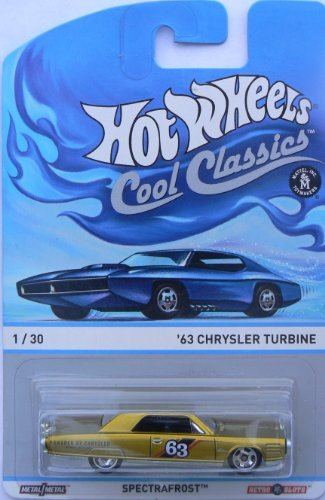 Hot Wheels Cool Classics Spectrafrost 1/30 '63 Chrysler Turbine - 1
