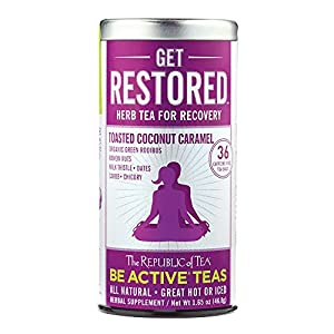 The Republic Of Tea Be Active Green Rooibos Tea Get Burning - Herb Tea For Metabolism, 36 Tea Bags from The Republic Of Tea