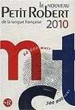 Le Nouveau Petit Robert Dictionnaire Alphabetique Et Analogique De La Langue Francaise 2010
