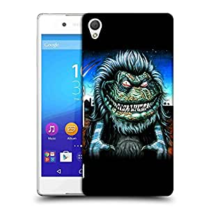 Snoogg Scary Monster Designer Protective Back Case Cover For SONY Z4 COMPACT
