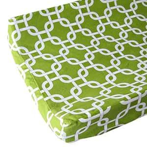 Amazon.com : Cambio de la cubierta del cojín, verde brillante de
