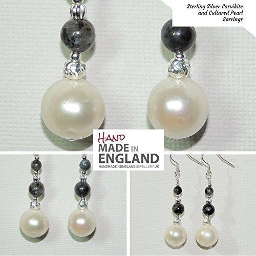 handmade-sterling-silver-larvikite-black-labradorite-cultured-pearl-drop-earrings