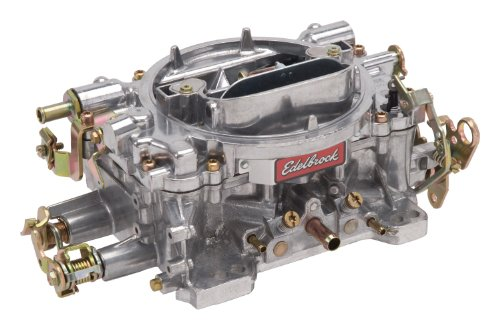 Edelbrock 9905 Performer 600 CFM Manual Choke Remanufactured Carburetor (Carburetor 350 Cfm compare prices)