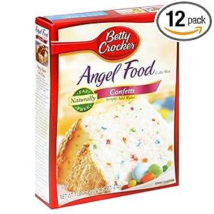 Angel Food Cake Nutrition Betty Crocker