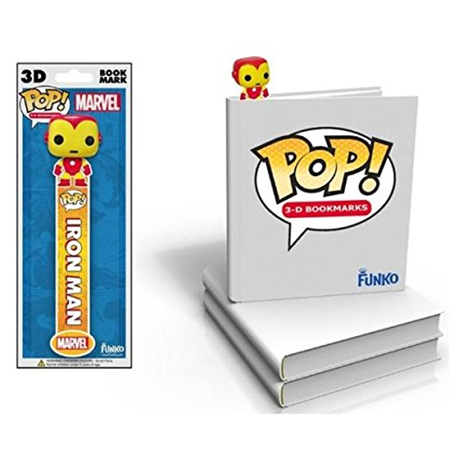 Funko Marvel Iron Man 3D Bookmark - 1