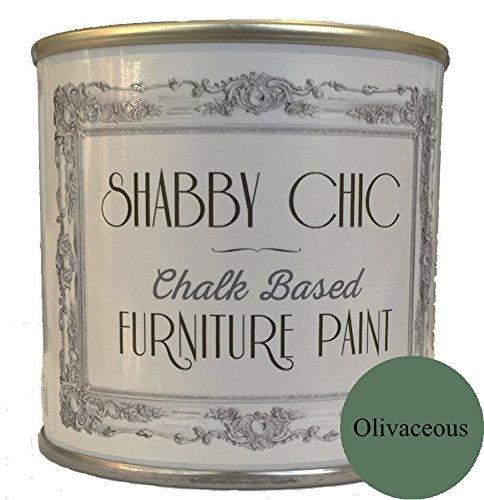 Vert Olive 6,35 cm peinture à la craie pour meubles Idéal pour créer un style shabby chic style. 125 ml
