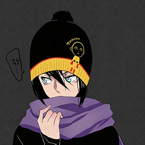 ed18895b7fe Cute Winter Warm Wool Cap Hat for Anime One Punch Man Saitama Cos Gift