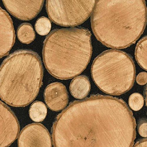 Klebefolie logs in 45cm breite designfolie dekorfolie for Klebefolie gemustert