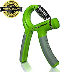 LifeStyle Lite Hand Gripper - Best Hand Exerciser Grip Strengthener Adjustable Resistance Range 22 to 88 Lbs for Increasing Hand Wrist Finger Forearm Strength