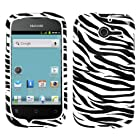 MYBAT HWM866HPCIM056NP Slim and Stylish Protective Case for Huawei Ascend Y M866 - 1 Pack - Retail Packaging - Zebra Skin