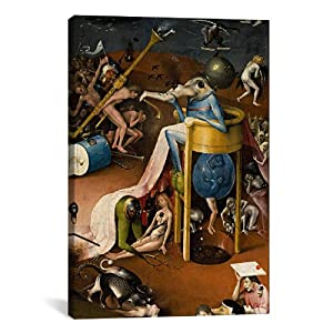 Icanvasart Hieronymus Bosch Bird Man From The Garden Of Earthly Delights 1500