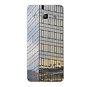 Vibhar printed case back cover for Samsung Galaxy Grand Quattro GlasBuilding