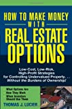 img - for How to Make Money With Real Estate Options: Low-Cost, Low-Risk, High-Profit Strategies for Controlling Undervalued Property....Without the Burdens of Ownership! book / textbook / text book