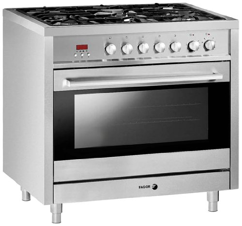Fagor-RFA-365-DF-Dual-Fuel-Range-with-Dual-Convection-5-Gas-Burners-and-7-Cooking-Programs-36-Inch
