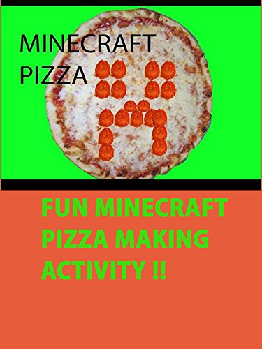Easy MINECRAFT pepperoni pizza Kids Food Recipe DIY