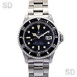 [ロレックス]ROLEX腕時計 サブマリーナー ブラック/赤表記 Ref:1680 メンズ [アンティーク] [並行輸入品]