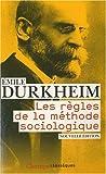 echange, troc Emile Durkheim - Les règles de la méthode sociologique
