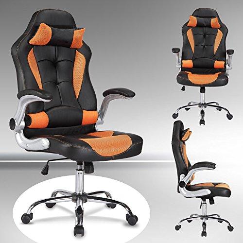 Mecor Gaming Stuhl Racing Stuhl Leder Bürostuhl Chefsessel